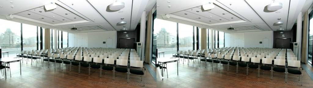 3d image presentation room