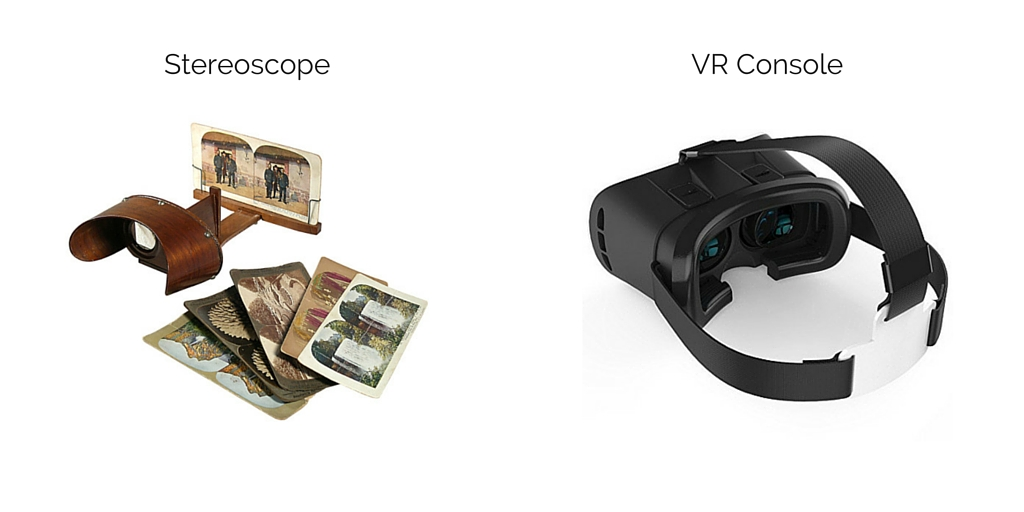 Stereoscope vs VR console