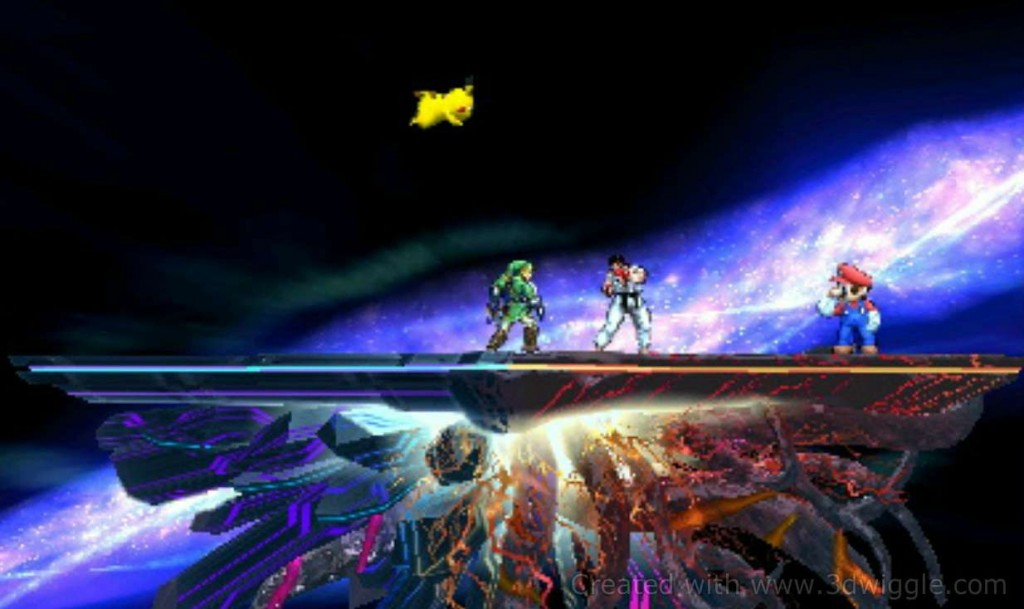 Nintendo in-game screenshot, 3dwiggle