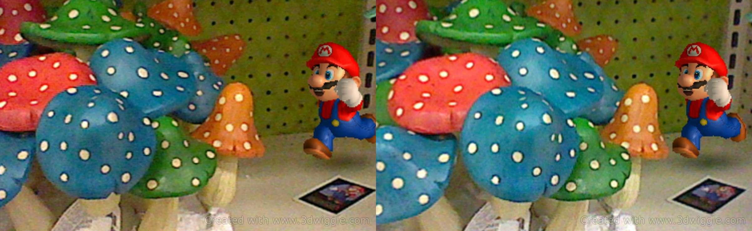 Nintendo in-game screenshot, 3dwiggle