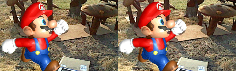 Nintendo in-game screenshot, super mario, 3dwiggle